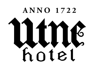 logo utne hotel_m årstal u skugge