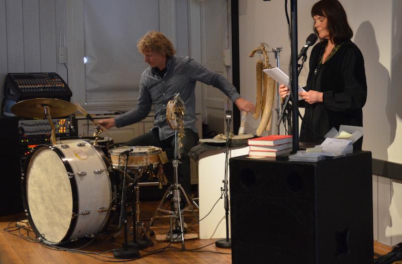 Odveig Klyve og Terje Isungset. foto: Solfrid Aksnes