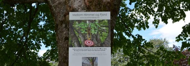 KUNSTVERK forsvunne frå parken i Norheimsund.